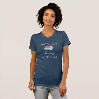 Camiseta Velocidade que lê sempre no t-shirt do treinamento