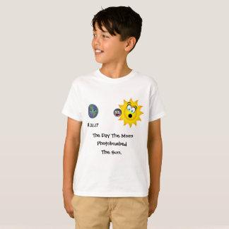 Camiseta Vem aqui a lua!