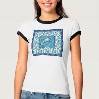 Camiseta Vende os escudos T do mar
