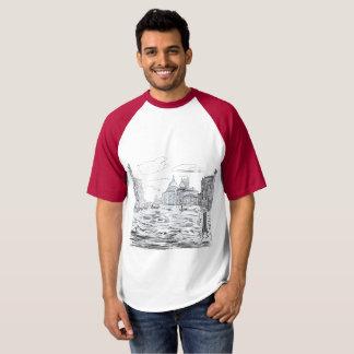 Camiseta Veneza. Cidade na água