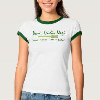 Camiseta Veni, Vidi, Vegi