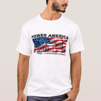 Camiseta VENTO de América do poder