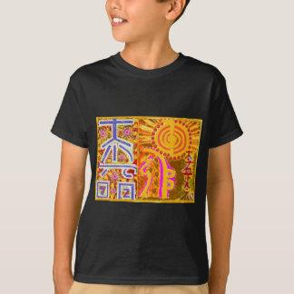 Camiseta ver 2013. Símbolos MESTRES curas de REIKI