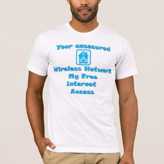 Camiseta Ver sem fio livre. 2