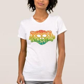 Camiseta Verão do design do t-shirt do amor