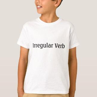 Camiseta Verbo irregular