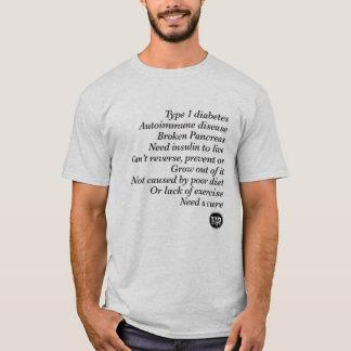 Camiseta Verdade de T1d (homens)
