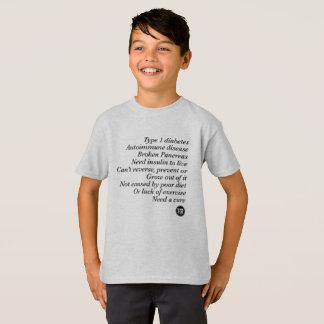 Camiseta Verdade de T1d (miúdo)