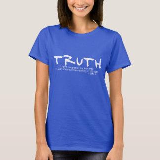 Camiseta VERDADE… Eu não tenho nenhuma maior alegria… 1:4