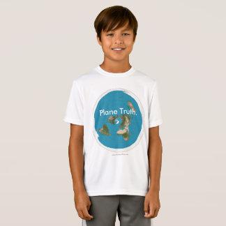 "Camiseta ""Verdade plana equidistante Azimuthal."" T-shirt"