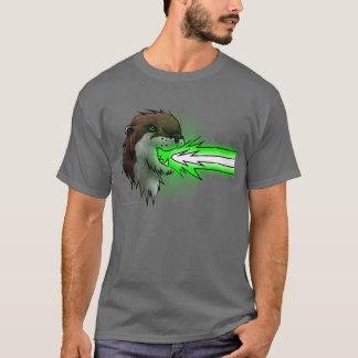 Camiseta Verde da lontra do laser da morte (t-shirt)