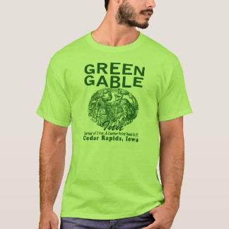 Camiseta verde da pensão do frontão
