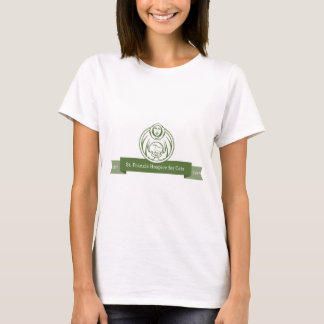 Camiseta Verde do logotipo de St Francis