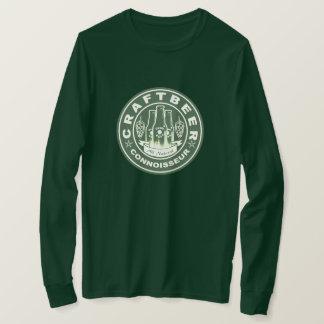 Camiseta Verde do perito da cerveja do artesanato
