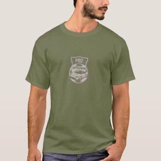 Camiseta verde do spyder mr2 no verde