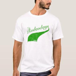 Camiseta Verde dos dias '09 do rodeio