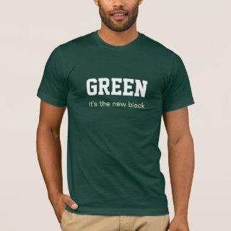 Camiseta VERDE é o preto novo