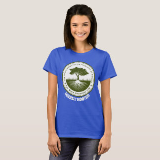 Camiseta Verde profundamente enraizado do ambiente