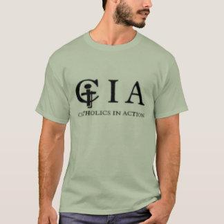 Camiseta Verde sujo do CIA