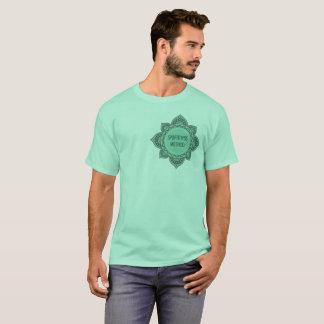 Camiseta Verde T padrão do método de SPBFitness dos homens