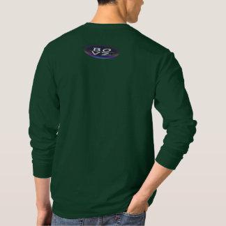 Camiseta Verde urbano LongSleeve da selva de BOVZ