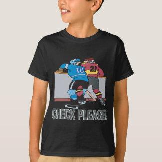 Camiseta Verificação por favor