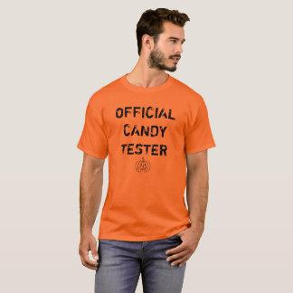 """Camiseta Verificador oficial """"traje """" dos doces do Dia das"""
