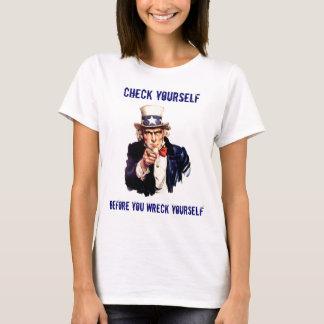 Camiseta Verifique-se