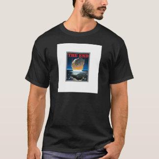 Camiseta vermelho a extremidade asteróide