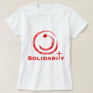 Camiseta Vermelho da solidariedade do Nazarene
