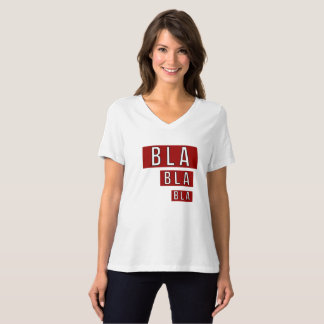 Camiseta Vermelho de Bla Bla Bla