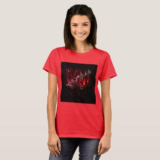 Camiseta Vermelho de Waltzilla