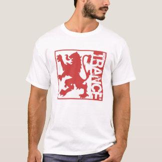 Camiseta Vermelho do leão do Trance