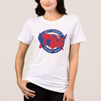 Camiseta Vermelho do presidente Eleger Trunfo Vencimento