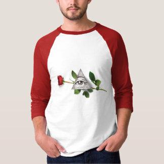 Camiseta Vermelho do rosa dos Magi