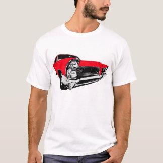Camiseta Vermelho Pontiac 1965 Prix grande