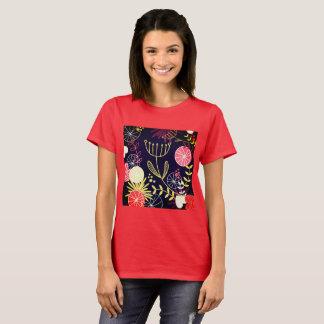 Camiseta Vermelho POPULAR do verão do tshirt das meninas