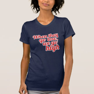 Camiseta Vermelho quando vão baixo nós vamos o voto
