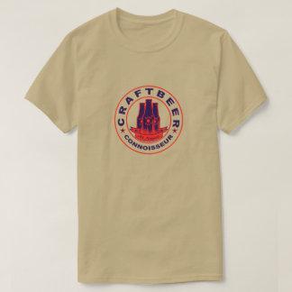 Camiseta Vermelho roxo do perito da cerveja do artesanato