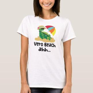 Camiseta Vero Beach (tartaruga na praia)