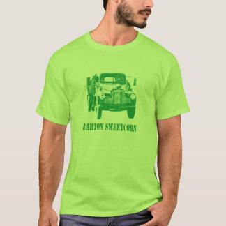 Camiseta Versão verde Hyper do caminhão do milho