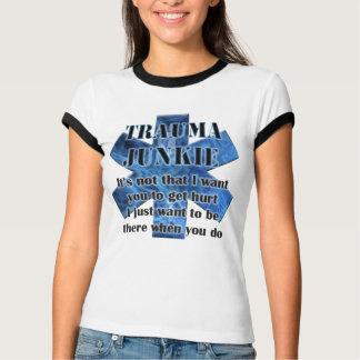 Camiseta verso da bíblia do paramédico