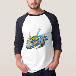 Camiseta Vespa blindada contra a enguia elétrica