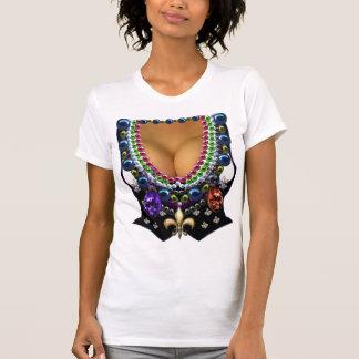 Camiseta Veste do carnaval com t-shirt da miçanga