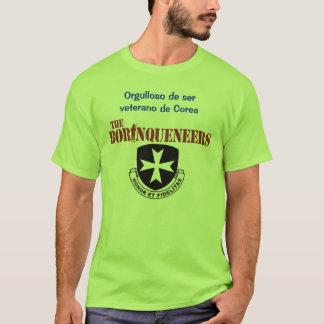 Camiseta Veterano de Corea - t-shirt de Borinqueneers