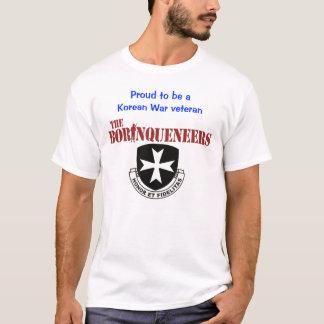 Camiseta Veterano de Guerra da Coreia - t-shirt de