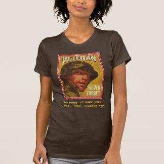 Camiseta Veterano de Vietnam - na memória de… -