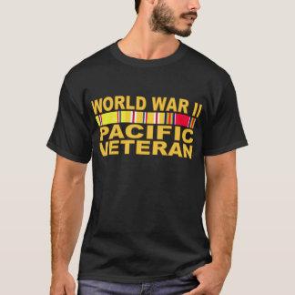 Camiseta Veterano do Pacífico da segunda guerra mundial