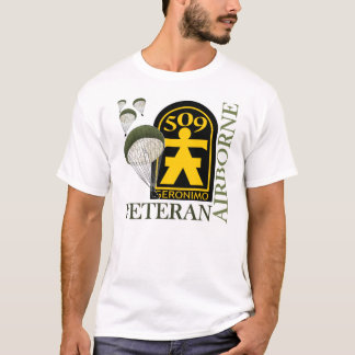 Camiseta Veterano transportado por via aérea - 509th PIR