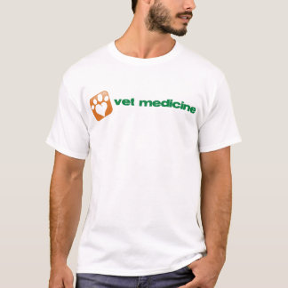 Camiseta Veterinary Medicine.